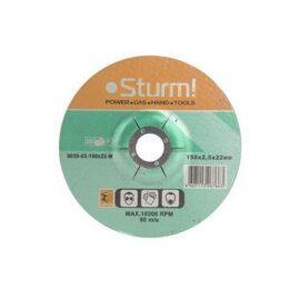 Отрезной диск по металлу Sturm