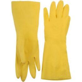 Перчатки латекс, резиновые